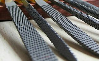 Виды и размеры напильников по металлу, их нумерация и материалы изготовления
