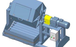 Виды и устройство галтовочных барабанов для металлообработки