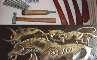 Основы чеканки по металлу: инструменты и техника обработки