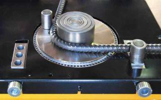 Технологические особенности гибки арматуры и прутка