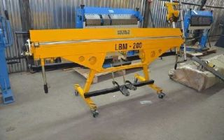Листогибы MetalMaster ЛБМ 200 и ЛБМ 250
