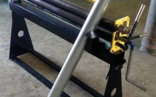 Самодельные вальцы для листового металла