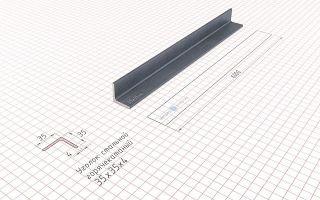 Калькулятор расчета веса металлического уголка