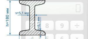Калькулятор расчета веса двутавровой балки