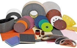 Виды наждачной бумаги, ее маркировка и производство