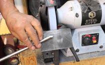 Правила и способы заточки режущего инструмента