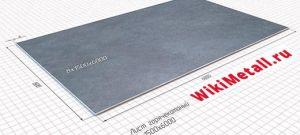 Таблицы веса листового металла