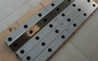 Производство гильотинных ножей и их обслуживание