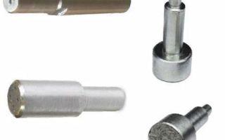 Инструменты для правки абразивных кругов, преимущества алмазных шарошек