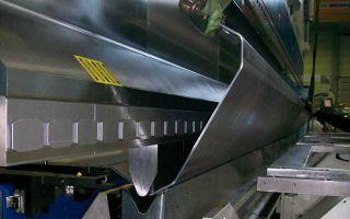Специфика гибки алюминиевого листа