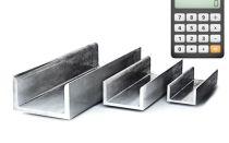 Калькулятор расчета веса швеллера