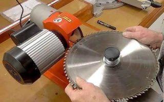 Как купить или сделать станок для заточки пильных дисков