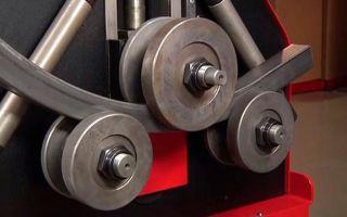 3 типа станков для гибки профильной трубы