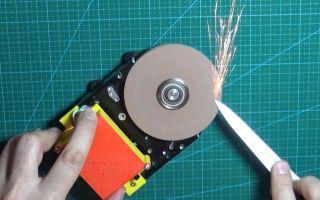 Как сделать наждак из жесткого диска своими руками