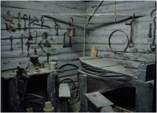 Интерьер старинной кузницы
