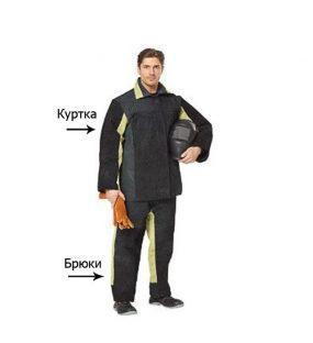 Базовые элементы одежды сварщика