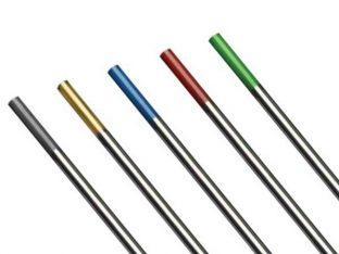 Маркировки вольфрамовых электродов