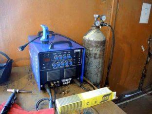 Полуавтомат с дополнительным подключением газового оборудования