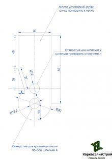 Самодельный станок для гибки арматуры Лист2