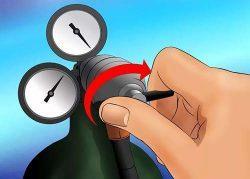 Этапы действий при резке газовым резаком
