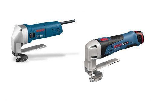 Сетевые и аккумуляторные ножницы по металлу