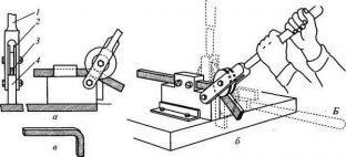 Принцип сгибания арматуры