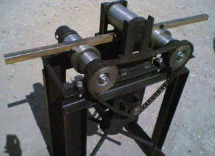 Станок для гибки профильной трубы по радиусу