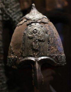 Кованный шлем