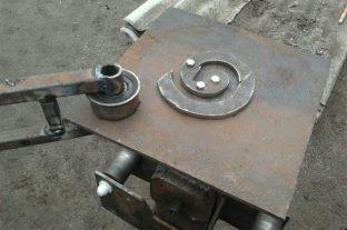 Пример оформления поворотного рычага кондуктора
