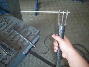 Процесс сварки электродом