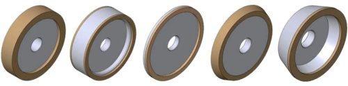 Конструкция шлифовальных алмазных кругов