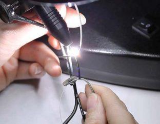 Лазерная сварка очков