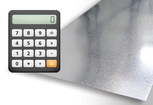 калькулятор листового металла
