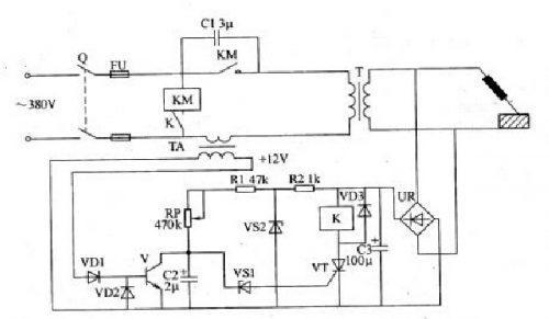 Схема инвертора