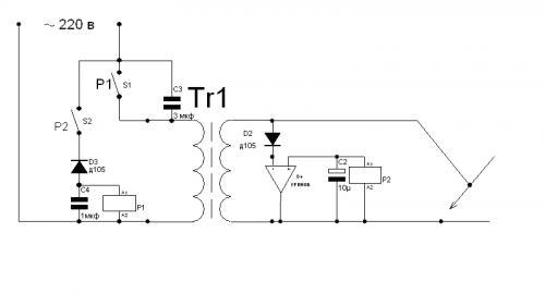 Механизм предотвращения залипания электрода