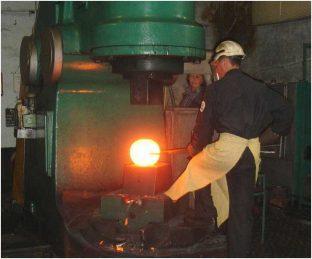 Ковка в промышленных условиях