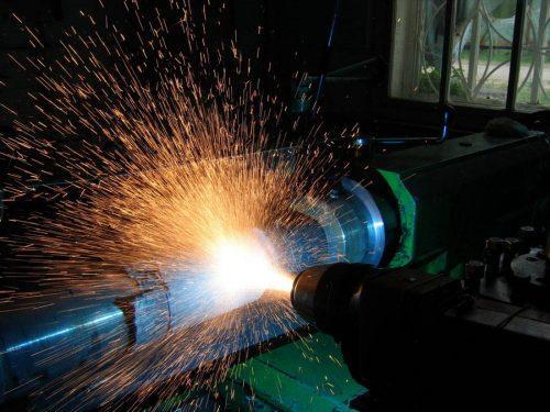 Процесс металлизации
