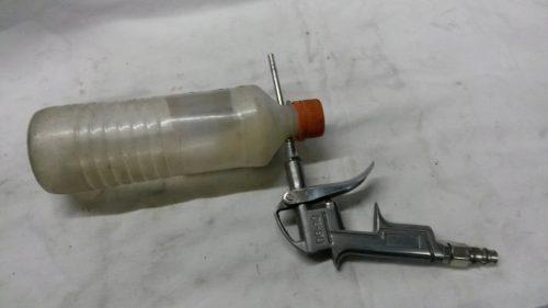 Модернизация продувочного пистолета в пескоструйку