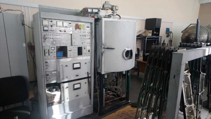 Напыление металла в магнетронных установках