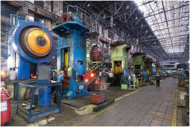 Цех Челябинского кузнечно-прессового завода