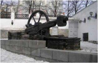Листопрокатный молот Нейво-Шайтанского завода (вторая половина XIX века).