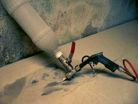 Пескоструй из краскопульта