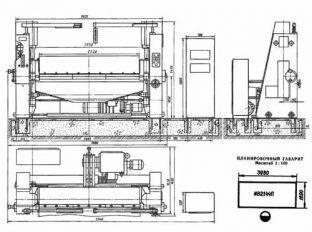 Схема листогиба ИВ2144