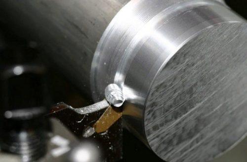 Процесс резания проходным резцом