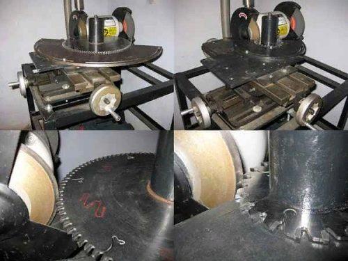 Самодельный станок для заточки пильных дисков