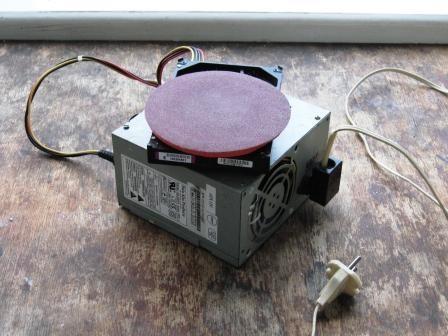 Шлифовальная машинка из компьютерного винчестера