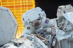 Сварщик в космосе