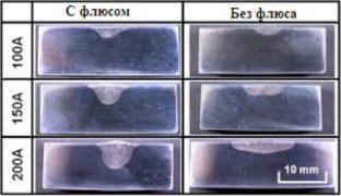 Сравнение сварочных швов