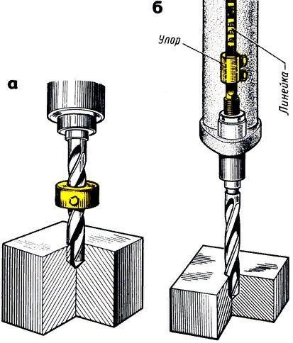 Сверление отверстий в металле