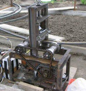 Электрический трубогиб